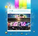 WaterDrop_Webdesign_Portfolio_by_~D4rK3N