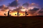 Evening-Desert